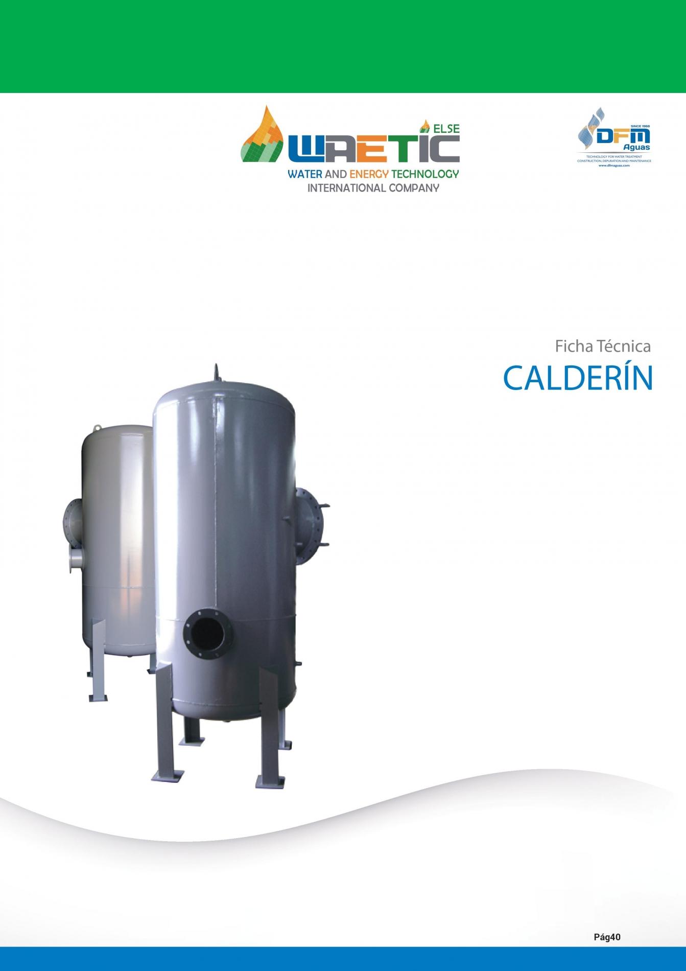 Calderin Presurizacion